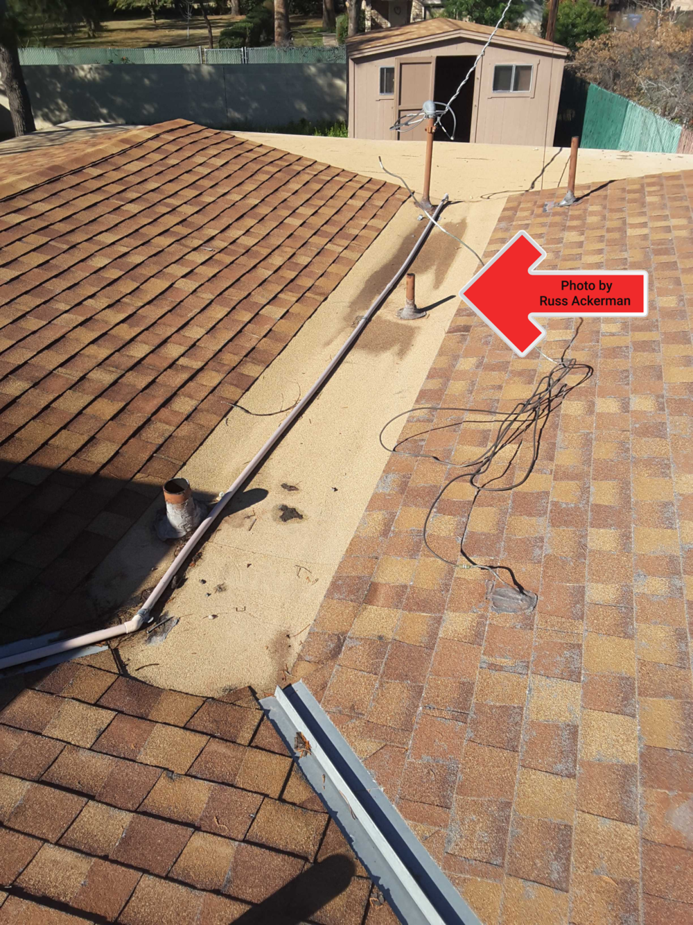 Dead roof valleys are notorious for leaking, catching debris and pooling water, regular maintenance is needed to reduce the chance of leakage.