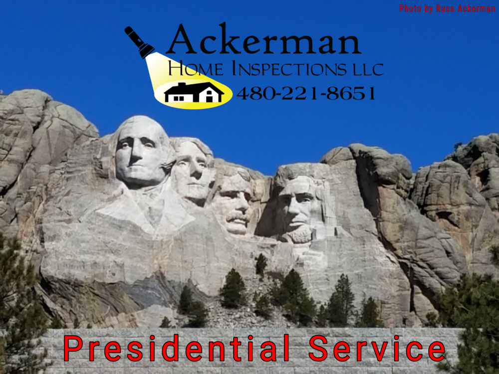 Ackerman Home Inspections, where every home buyer is treated like a V.I.P. First time home buyer friendly.