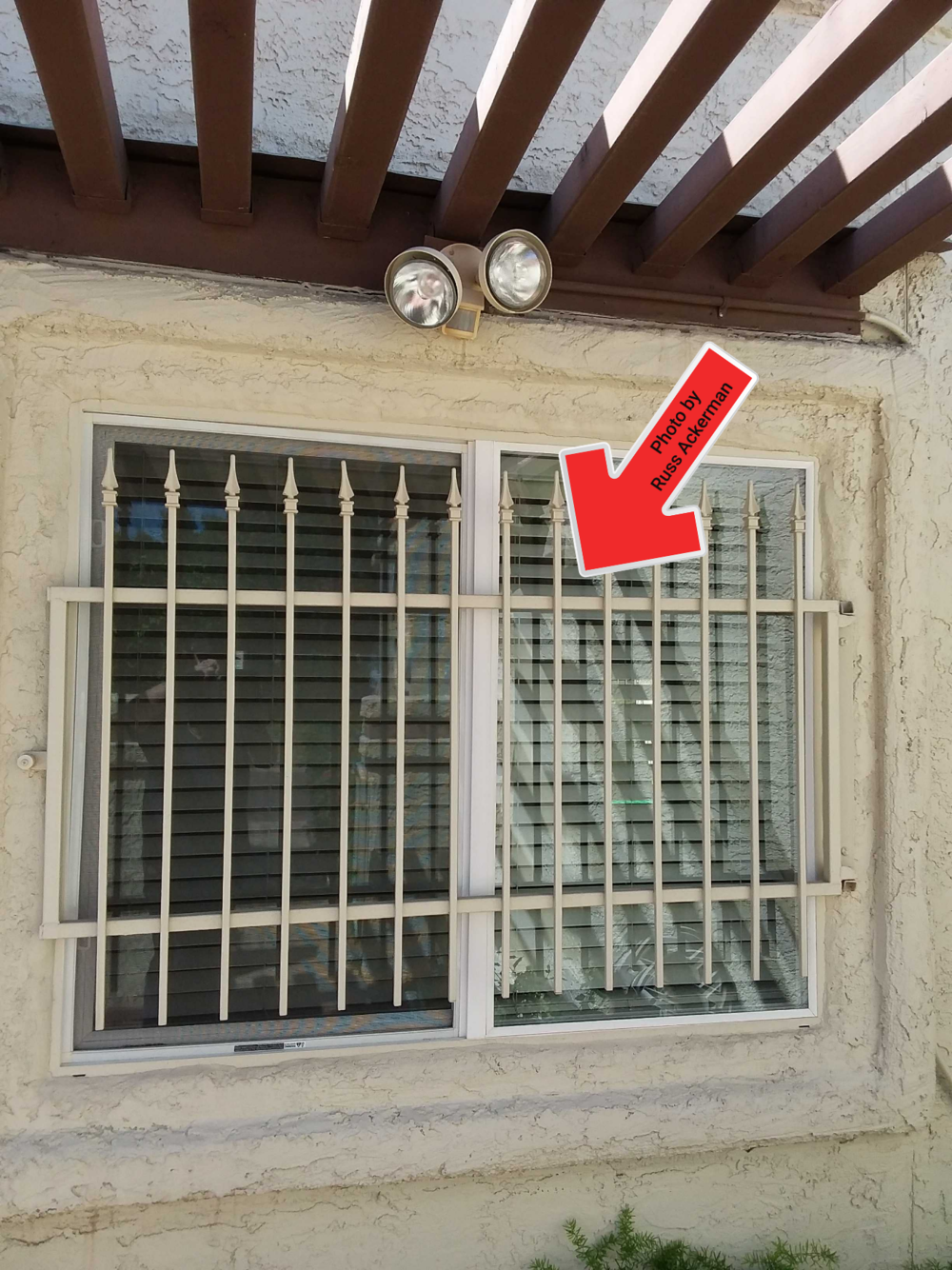 Release mechanisms at window security bars are notorious for failing, restricting proper egress. They should be checked monthly for proper operation.