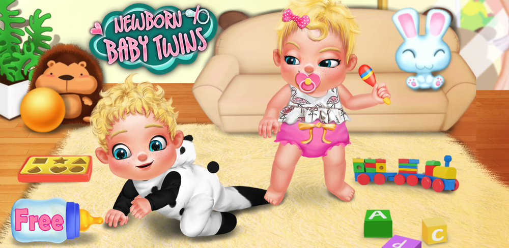 Kids & Baby Care Games - Angry Newborn Baby Boss  You woke up and found your mom brought you newborn baby twins!!!Excited and timid, you wanna help your mom to take care of the newborn babies.But do you really can?