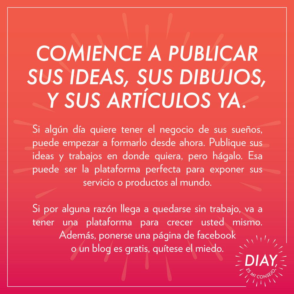 Juan Muñoz — Diay, es mi consejo.