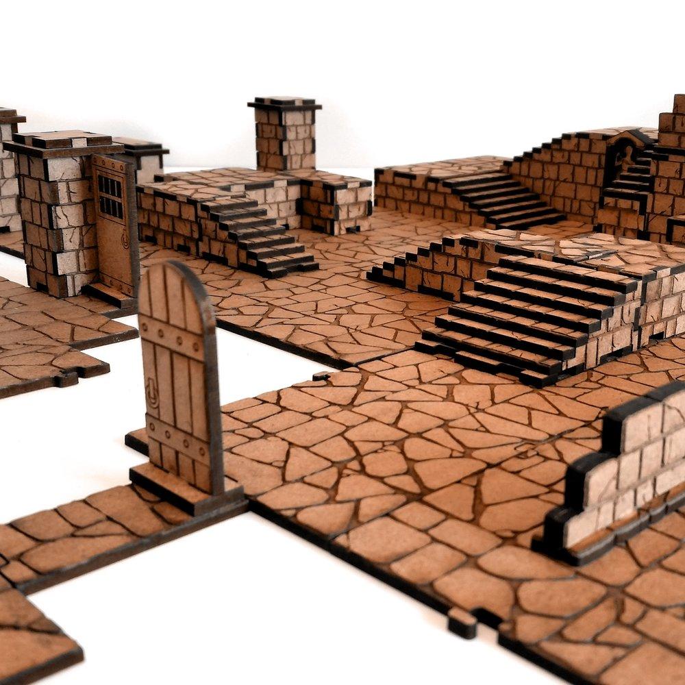 Terrain - Dungeon Tiles  - Huge Kits