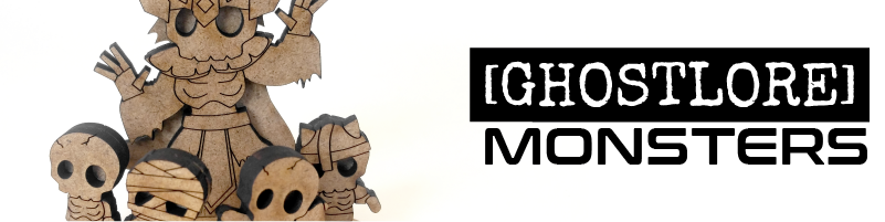 Monsters  Filter our minis to just monsters and beasts. Products designed by [GHOSTLORE]