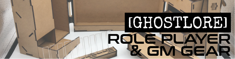 Role Player and GM Gear  D&D, Pathfinder, or any game that wants you to roll dice and cast spells. Products designed by [GHOSTLORE]