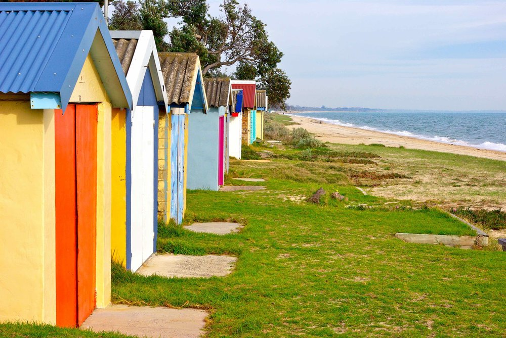 Bathing Boxes, Mornington Peninsula, 2008 ©