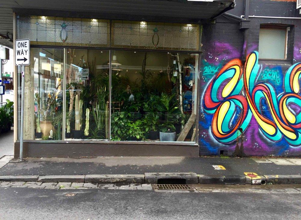 Graffiti, St Kilda, Melbourne, 2016 ©