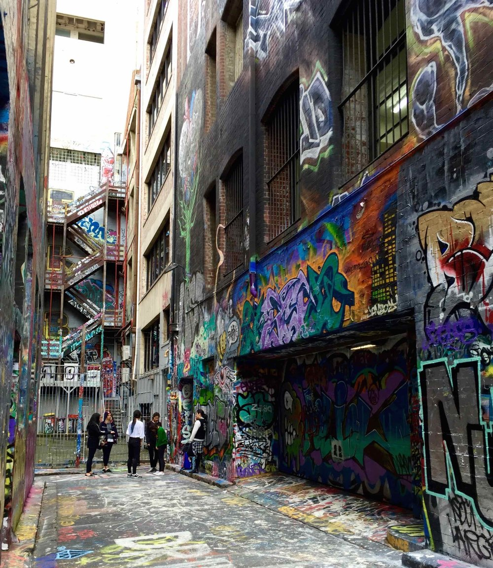 Hosier Lane, Melbourne, 2016