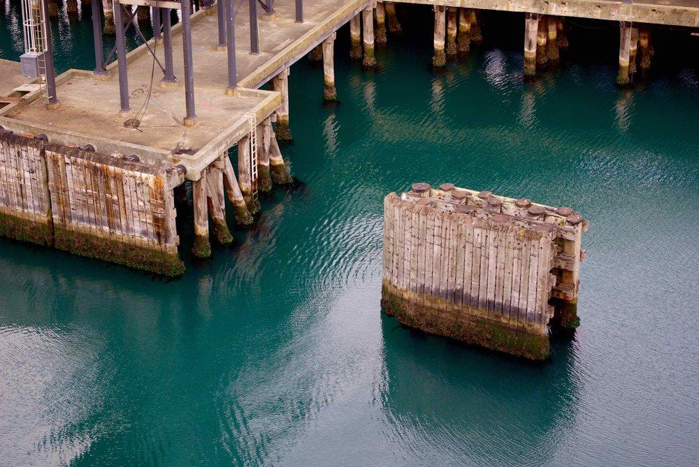Wharf, Picton, 2008 ©