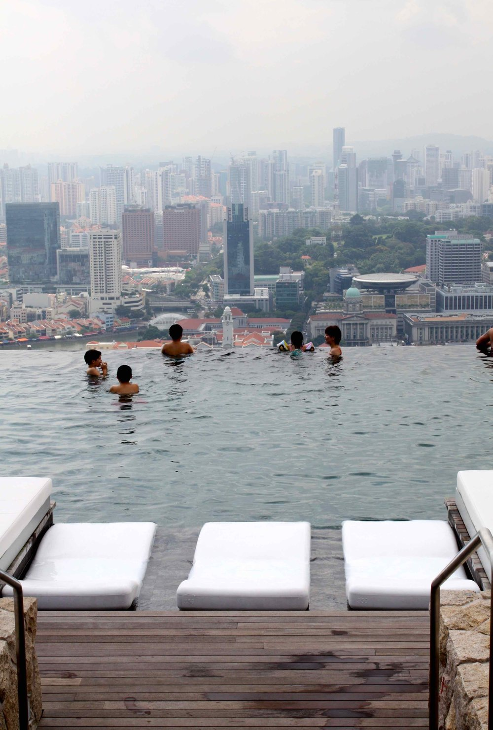 Pool, Marina Bay Sands, Singapore, 2011 ©