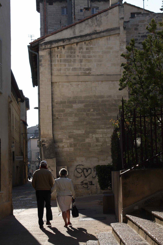 Couple, Provence, 2012 ©