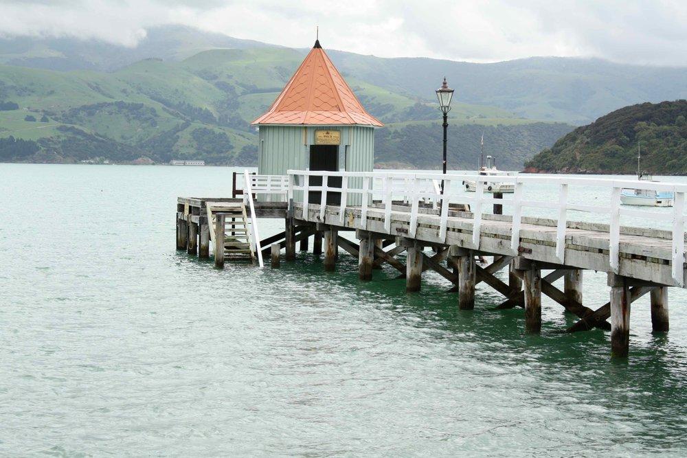 Wharf, Akaroa, 2011 ©