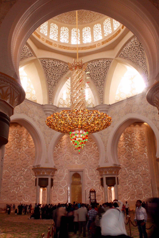 Sheikh Zayed Mosque, Abu Dhabi, 2012 ©