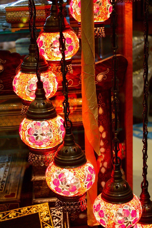 Lanterns, Abu Dhabi, 2012 ©