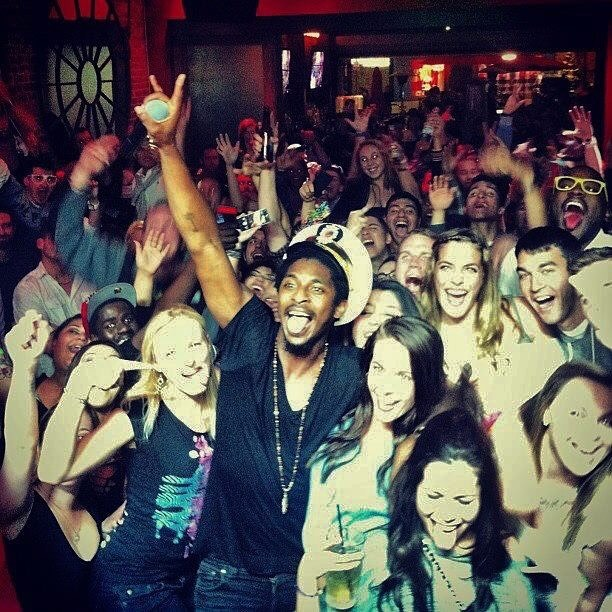 Shwayze's in the house tonight! Guest list closes soon so send us a message if you're coming in. It's a perfect night for a Corona and lime... @shwayze