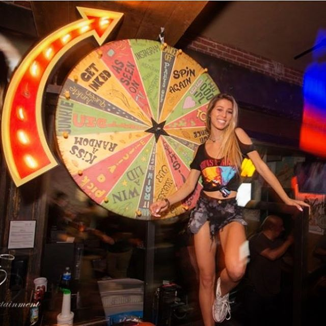 Come spin the wheel, play some ping-pong and enjoy $1 drafts from 10-11pm! #thirstythurs #gaslampsandiego