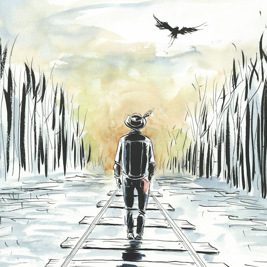 Gord Downie by Jeff Lemire