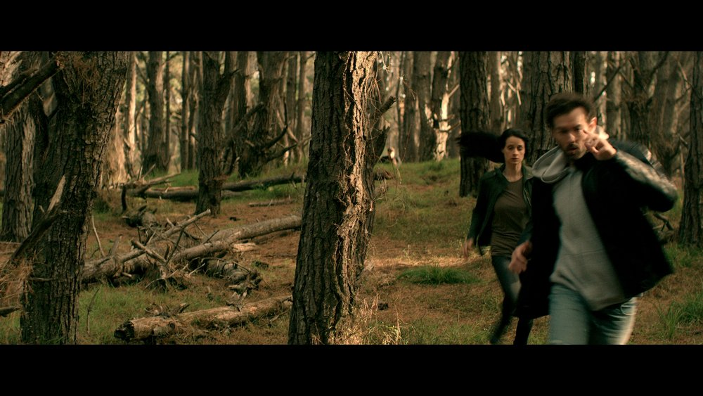 This was an interesting scene as the previous shots were shot in almost darkness on another day! I was struggling to see anything on the reference movie so this meant lots of RED RAW manipulation and NR to get the best result from the dark scene. I then transitioned the grade to ease the cut from the two scenes then slowly upped the colour and saturation to achieved the magic hour look above. One of my favourite scenes in the movie.