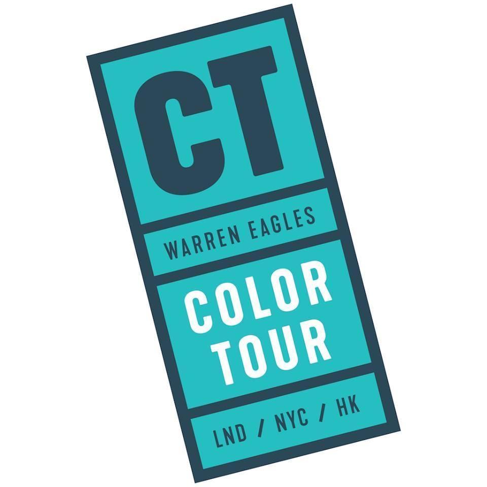 color tours with warren eagles colorist brisbane, australia