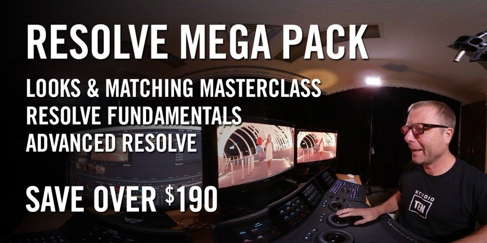 daVinci Resolve v14 Mega Pack with Warren Eagles, Freelance Colorist, Brisbane, Australia