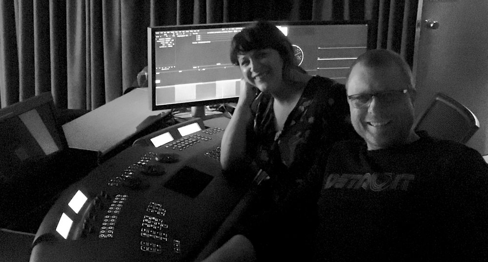 Baselight theatre at Images Post & Sound in Auckland