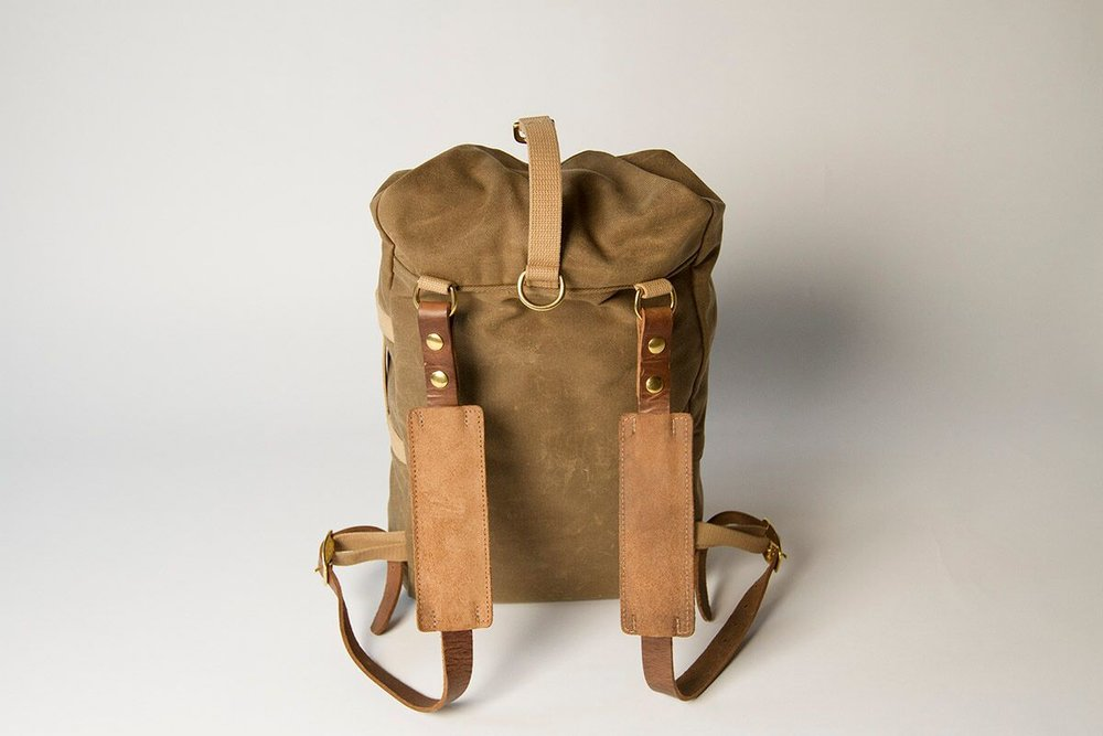 Military Duffle Backpack (Ranger Tan) — Collected Works Co. 92f6936a445