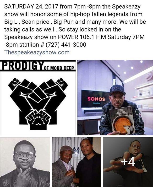 This Saturday 7-8pm tune In