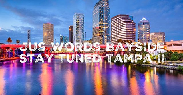 @juswordsopenmic and The SpeakEazy are glad to announce that the East coast longest running open mic 🎤 venue is coming to The Bayside @juswordsbayside . For updates and Questions Follow @juswordsbayside ...Stay tuned Tampa ‼️#tampa #soho #openmic #art #music #tampaartist #tampamusic #tampaart #tampacomedy #tampamusicconference #tampamusicians #tampalife #livemusic #juswords #juswordsphilly #juswordsbayside #tampaspokenword #openmic #tampaopenmic #livemusic #tampabay #tampalivemusic #tampaliveband #tampapoetry #poetry #tamparap #tampasinger