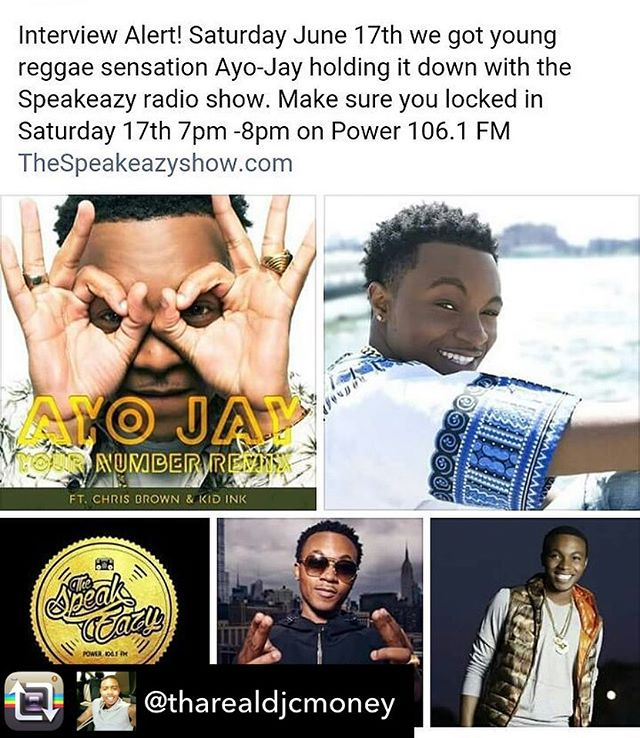 We can't wait to have @iamayojay on the air with us this weekend!!! #SpeakOnIt #speakeazyshow #power106 #clearwater #florida #radio #radiohead #radiointerview #ontheair #contactus #followforfollow #followus #iamayojay