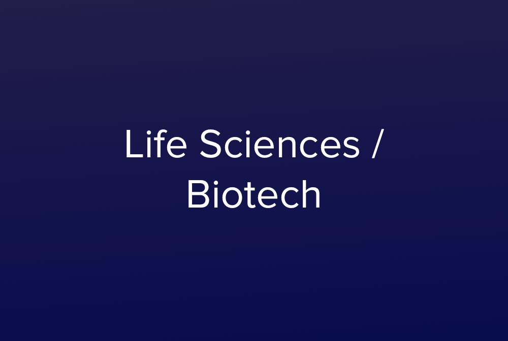 Life Sciences Biotech