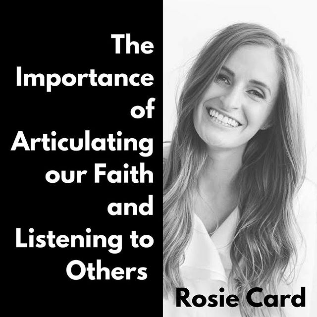 "🚨New Episode!🚨 In this episode, Rosie Card of @qnoor_templedress shares her thoughts on Sister Eubank's talk ""Turn on Your Light"" from the General Women's Session of this last conference. Rosie has a passion for encouraging people to make their voices heard, and you'll leave this interview wanting to find creative ways to share not only your gospel thoughts, but also to learn about the gospel in original ways from those with other perspectives. Link in bio!"
