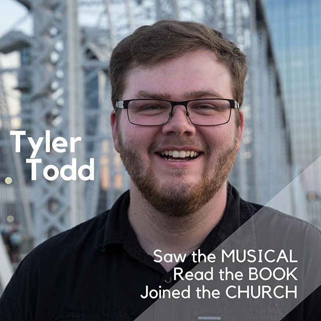 This episode has been in the works since this time last year! It's about time we finally got our friend and Talks on Talks listener @tyler_todd6153 on the show to talk about the fascinating story of his conversion after watching the Book of Mormon Musical.  He shared with us what it was like first learning about the church from the musical, how he transitioned to meeting with the missionaries and their mission president, and how he handled his conversion story being picked up by USA Today.  Take a listen and don't forget to wish Tyler congratulations on recently getting engaged! You go, Tyler!