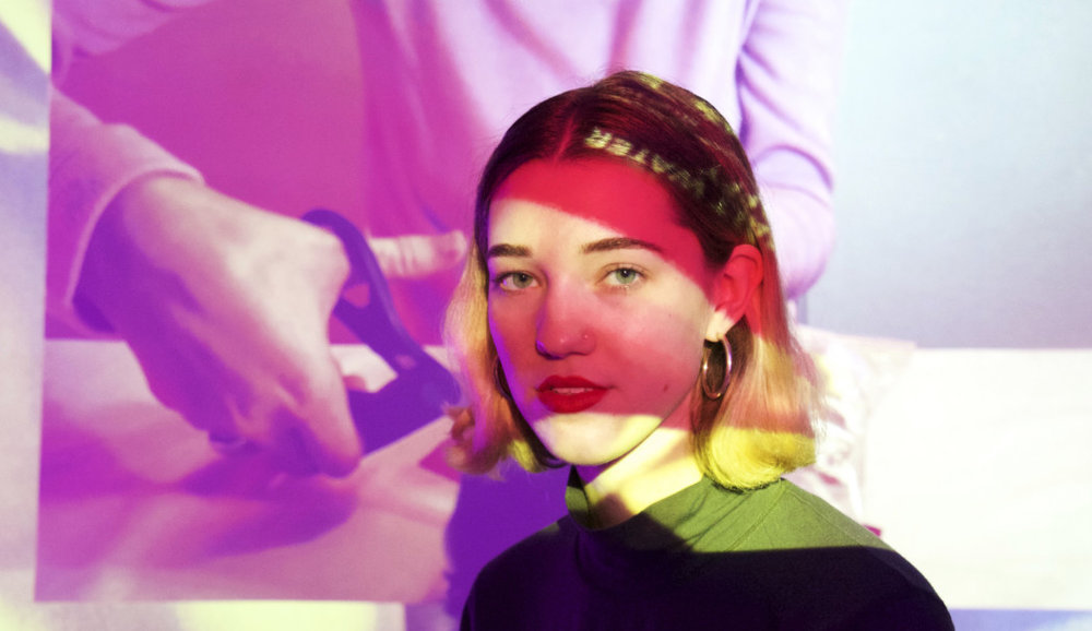 Digital artist May Waver on feminist art