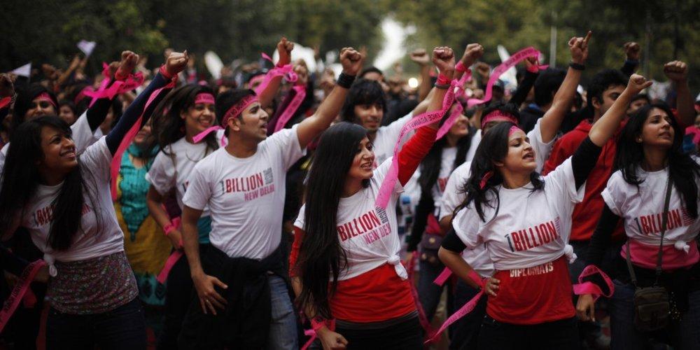One Billion Rising on ending violence against women