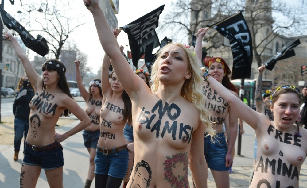 Activist group FEMEN and its radical nudity