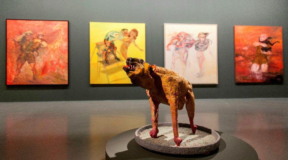 Review of Mehmet Güleryüz at Istanbul Modern