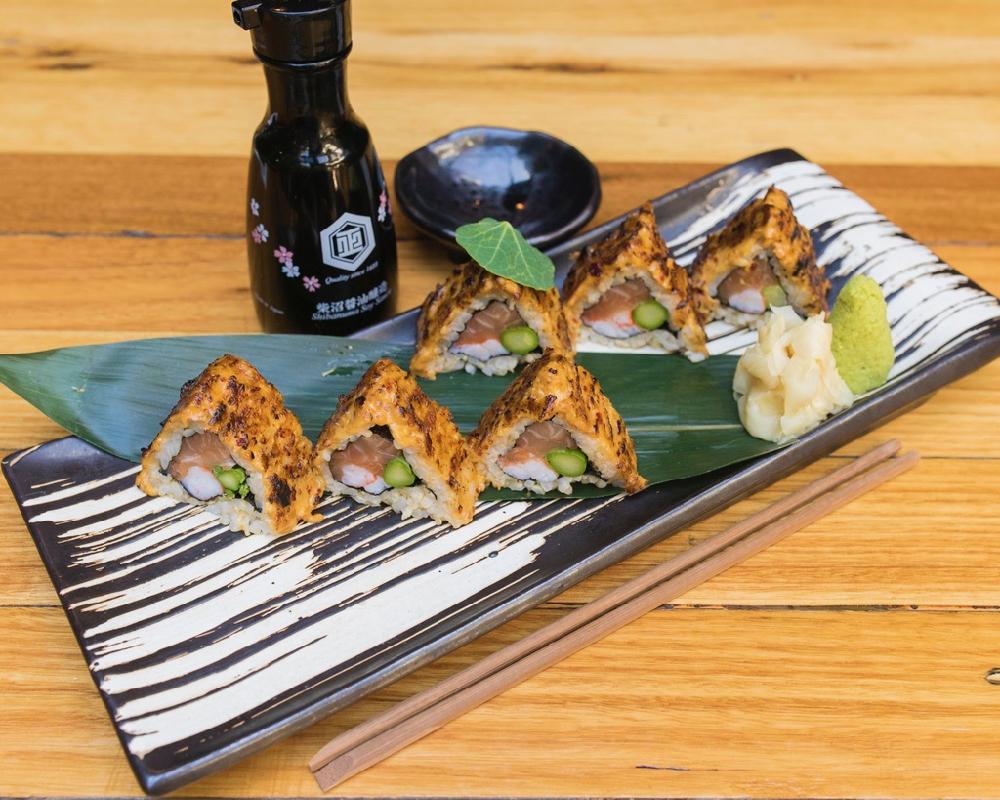 Bite-sized sushi in Melbourne