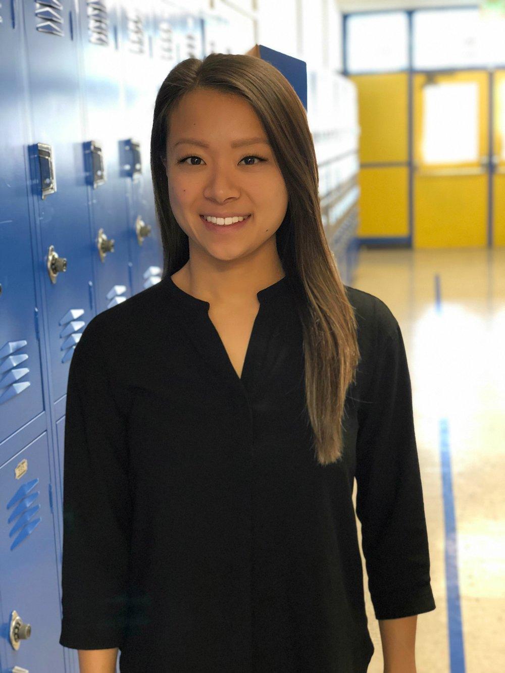 Sarah Rhee    History Teacher