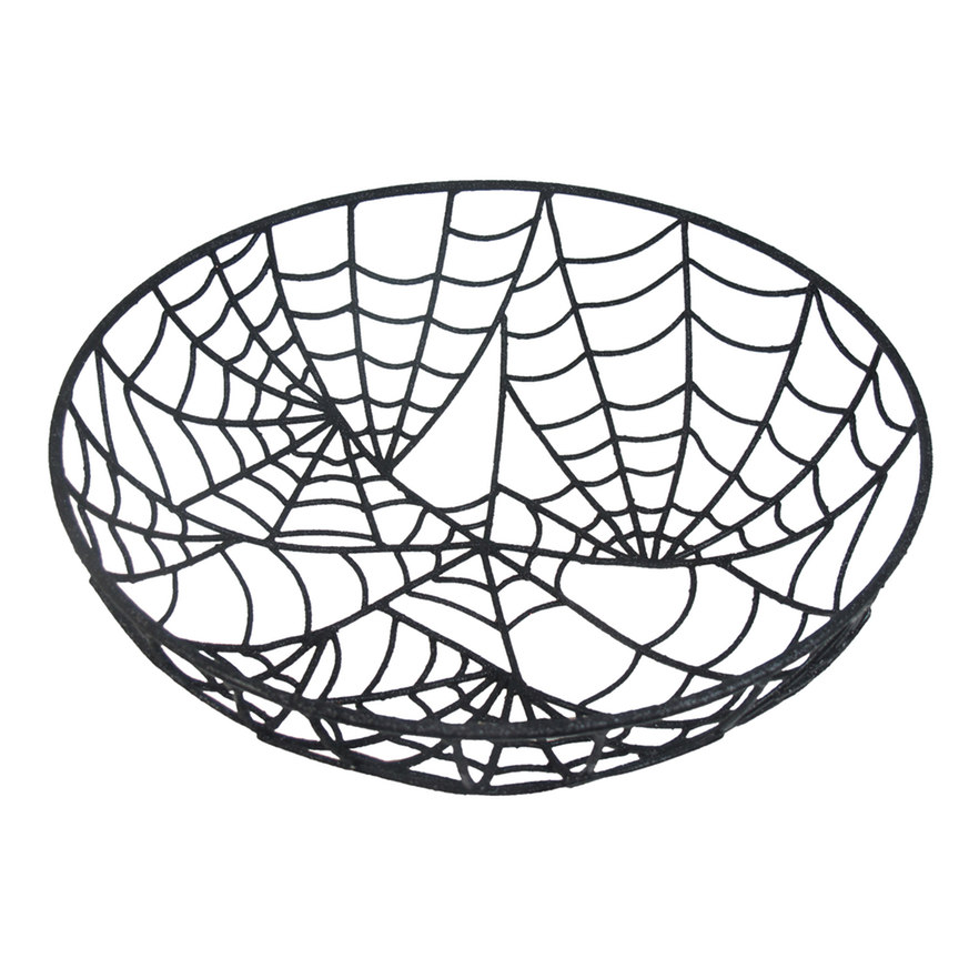 Decorative Spiderweb Bowl
