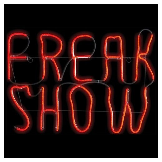 Freak Show sign light