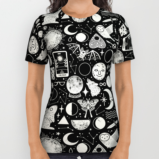 Lunar Pattern: Eclipse Shirt by LordofMasks