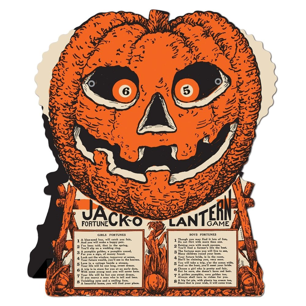Beistle Jack-O-Lantern Fortune Wheel Game