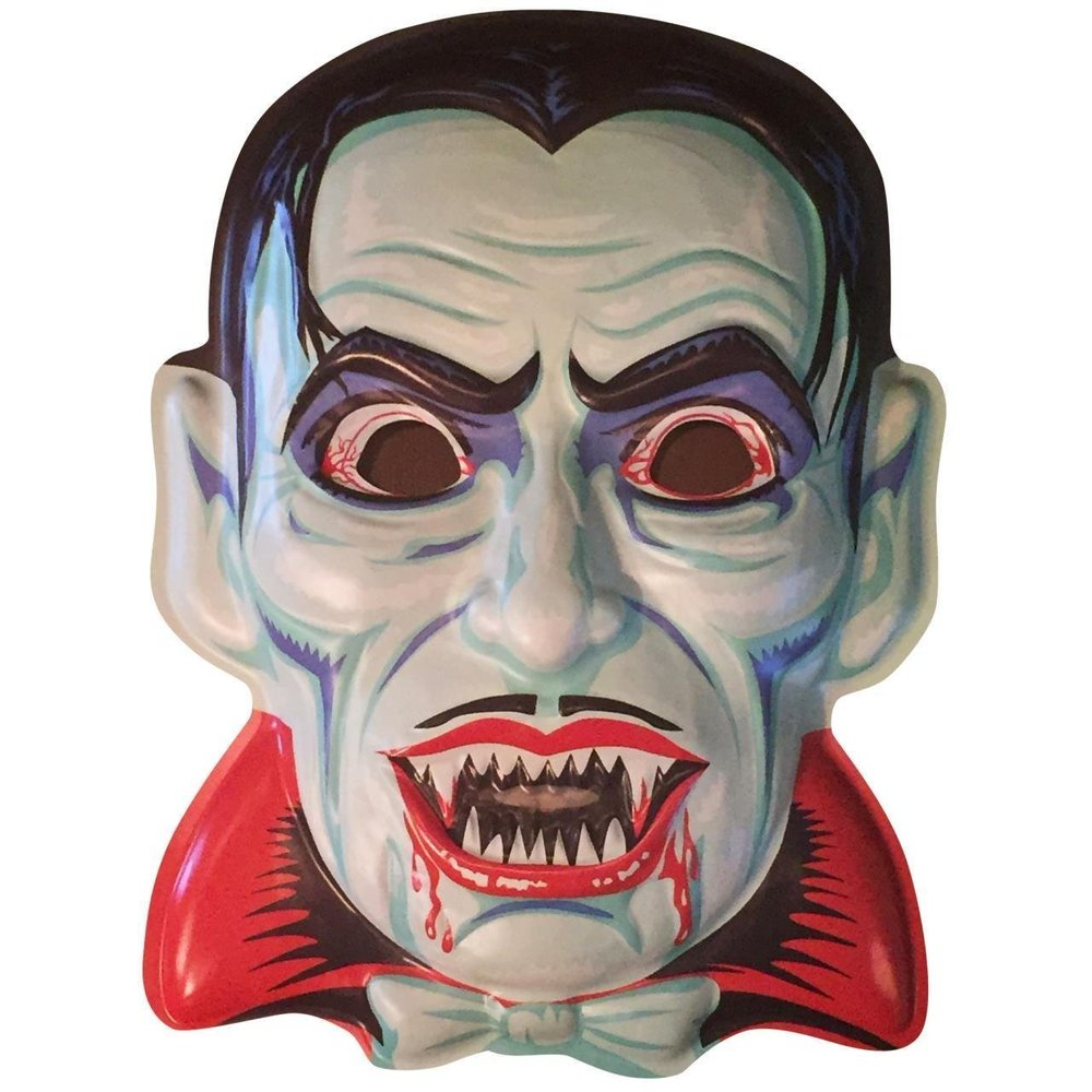 Blood Of Dracula VAC-Tactic Plastic Mask Wall Decor