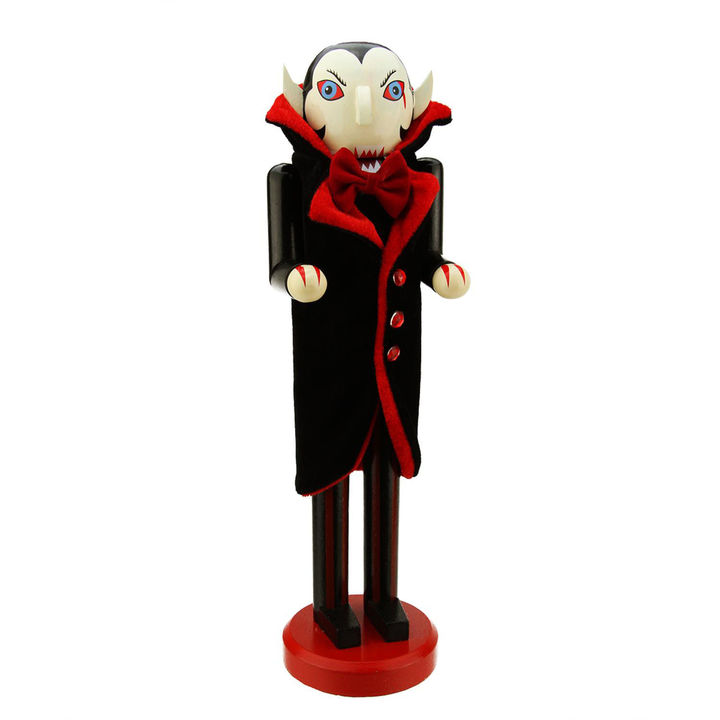 Vampire Decorative Wooden Halloween Nutcracker