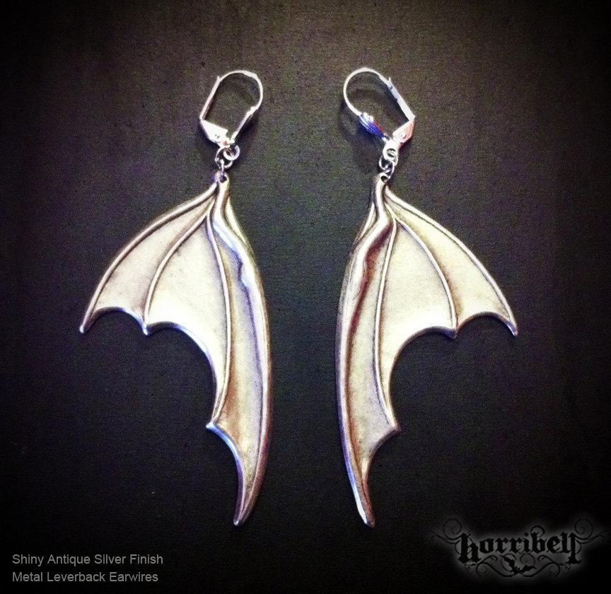 Bat Wing Earrings