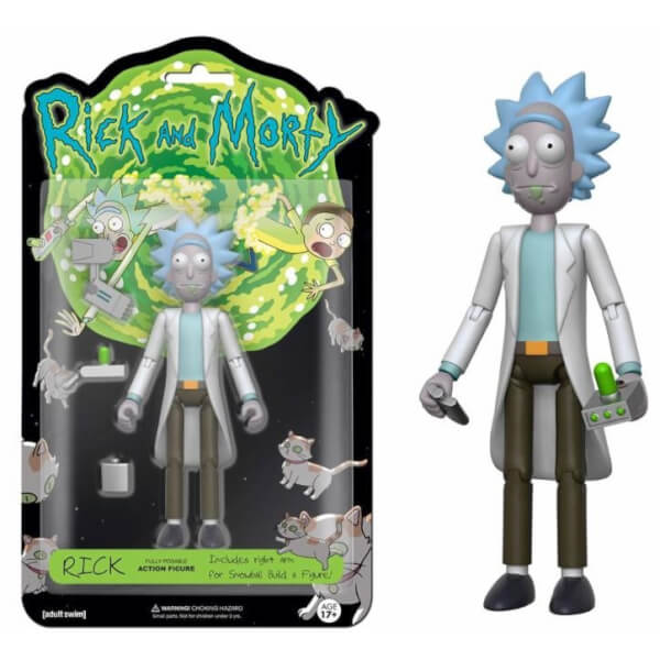 Rick Articulated Action Figure