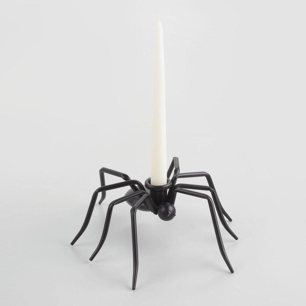 Spider Taper Candleholder