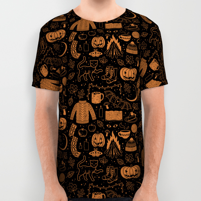 Autumn Nights: Halloween Shirt by Lord of Masks