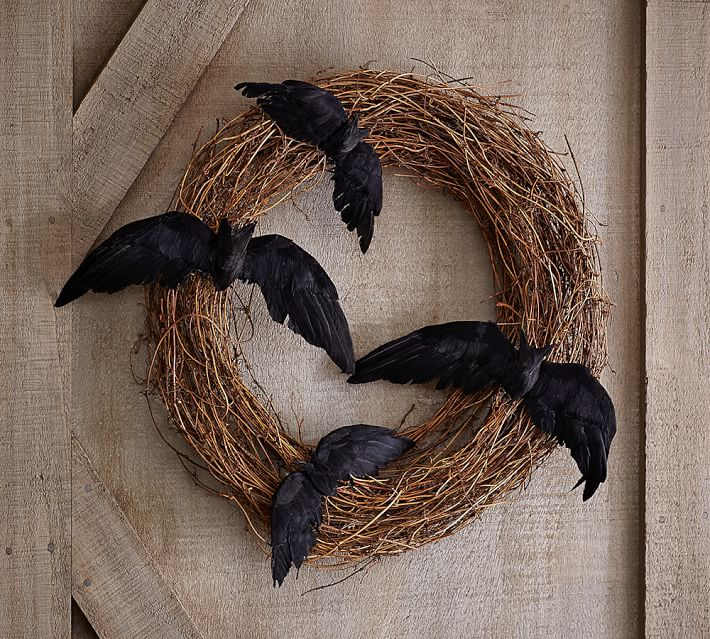 Twig & Bat Wreath