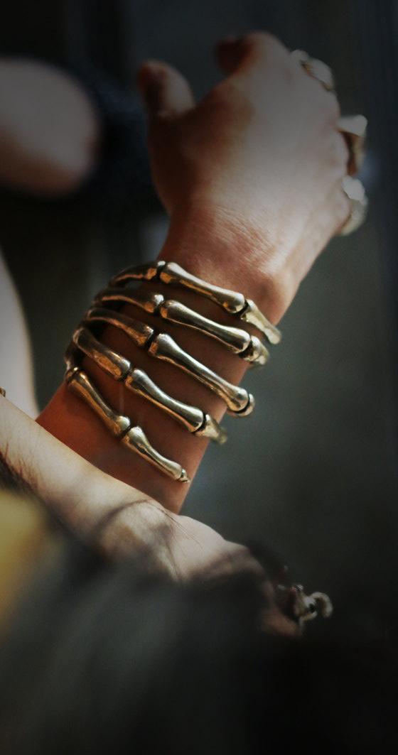 Hand Skeleton Cuff