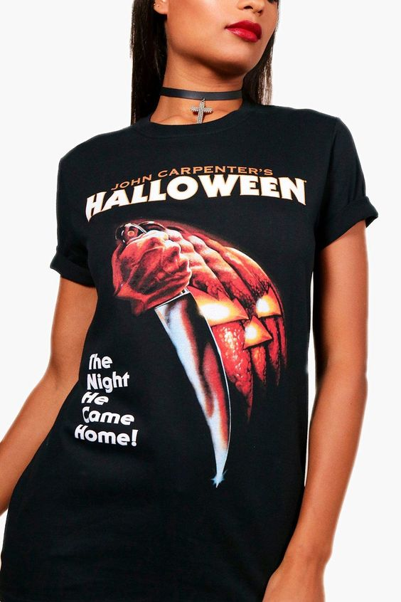 Halloween Licensed Oversized Tee